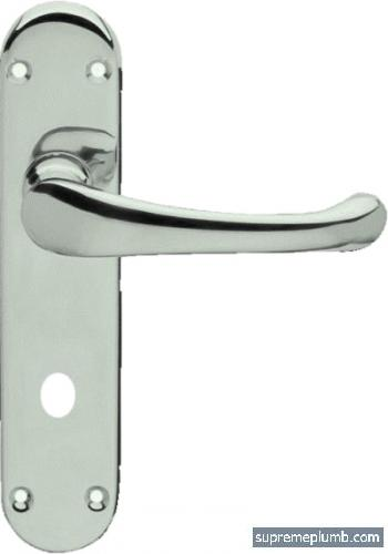 Hilton Lever Bathroom Satin Nickel